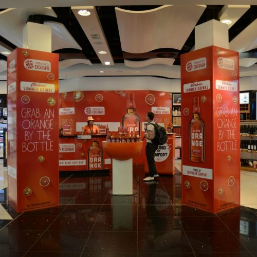 Travel retail activations